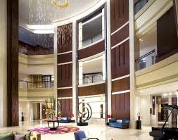 Hotel Interior Decorators Round Hotel Lobby Interior Design Rendering Download 3d House