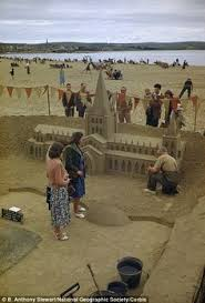 permanent sand castle can use the recipe for sand bowls too