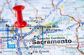 world map of capital cities us capital cities on map series sacramento california ca stock