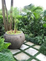 Balinese Garden Design Ideas Tropical Feature Plants