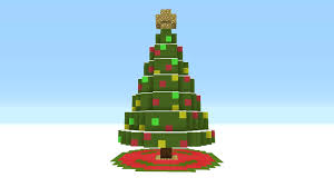 minecraft tutorial how to make a giant christmas tree youtube