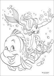 disney princess coloring pages mermaid images coloring