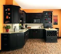 peinture bois meuble cuisine meuble cuisine marron couleur peinture cuisine orange meubles meuble