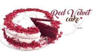 red velvet cake happy valentine u0027s day youtube