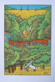 inside the rock poster frame blog jay ryan kings of summer u0026 en