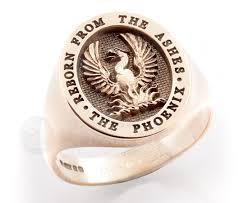 Mens Monogram Rings Bespoke Signet Ring Shop