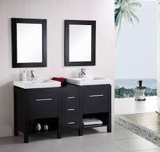 Modern Glass Bathroom Vanities by Bathroom Vanity Modern Sleek Bathroom Vanity Glass Bathroom