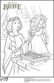 disney princess merida coloring pages minister coloring archer