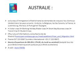 bureau d immigration australien avant propos depuis plus d un an environ chacun attend ce moment