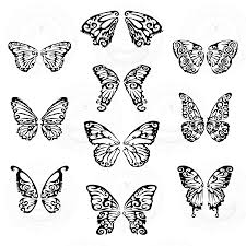 butterfly wings clip sets