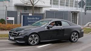 2018 mercedes e class coupe caught performing final testing