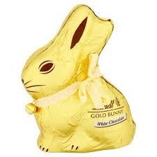 white chocolate bunny lindt gold white chocolate bunny waitrose