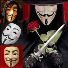 Halloween Costume Vendetta Anonymous Movie Guy Men Mask