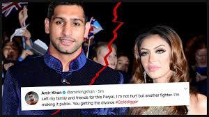 Amir Khan Backyard Sports Recap Amir Khan U0027tweets Wife In Shock Divorce Row And Accuses Her