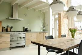 peinture cuisine design interieur peinture cuisine peinture vert anis peinture