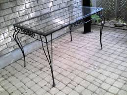 wrought iron patio table and chairs wrought iron buy or sell patio garden furniture in ontario