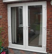 Glass Patio Doors Exterior by Upvc Patio French Doors Patio Furniture Ideas