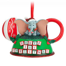 dumbo baby u0027s first christmas ear hat ornament 25 disney