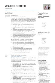 Transition Resume Examples by Lead Pastor Resume Samples Visualcv Resume Samples Database