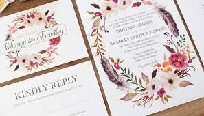 design your own wedding invitations wedding print your own wedding invitations commendable print