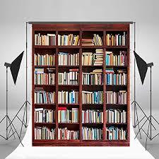 Bookshelf Background Image Books Background Amazon Com