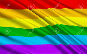 Rainbow Pride Flag Large Version Of The Pride Flag Stock Photo Picture And