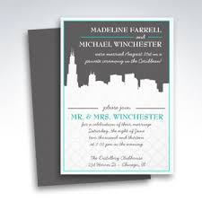 chicago wedding invitations simplicity reception only invitations simplicity