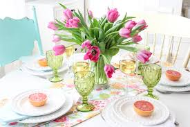 Mothers Day Mother U0027s Day Brunch Table Setting A Pretty Life In The Suburbs