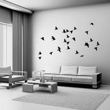 Modern Wall Decals For Living Room | living room modern style fashion diy butterfly fairy wall stickers