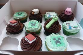 minecraft cupcakes minecraft cupcakes cakes by siobhan cakes by siobhan