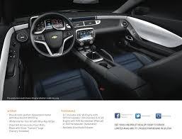 camaro interior 2014 chevy announces camaro edition and magenta paint