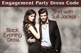 so you have an engagement party to attend here u0027s what to wear