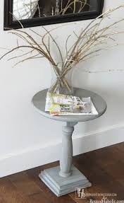 Pedestal Accent Tables Remodelaholic Diy Pedestal Accent Table