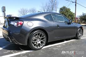 brz subaru grey subaru brz with 18in tsw nurburgring wheels exclusively from