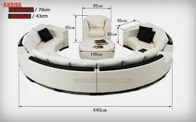 canape forme ronde canapé d angle en cuir italien en rond design et pas cher modèle fleur