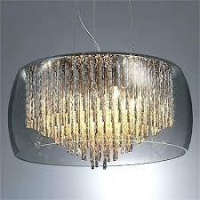 Glass Light Shades For Chandeliers Glass L Shades For Chandeliers Pickasound Co