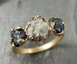 Non Traditional Wedding Rings by 20 Gorgeous Black Diamond Engagement Rings Deer Pearl Flowers