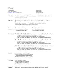 Usajobs Resume Usajobs Resume Template Resume Ideas