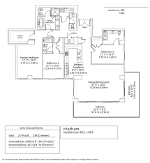 Parkland Residences Floor Plan by Aqua Chatham Select Realty