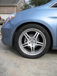 honda odyssey 2005 tire size help tire size on 20in hre rims pics