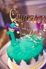mardi gras cake decorations mardi gras cake topper from a mardi gras themed birthday party on