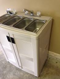 Portable Sink With Hot And Cold Water Studio Ideas Pinterest - Kitchen sink portable