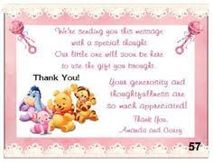 Thank You Cards For Baby Shower Gifts - jungle jill baby shower thank you card keepsake imprints online