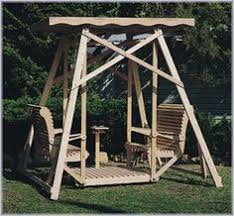 Wooden Garden Swing Bench Plans by Plans For A Deluxe Garden Swing Honey I U0027m In The Garage