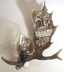Antler Wall Sconce Fallow Deer Antler Wall Sconce Designs By Luca