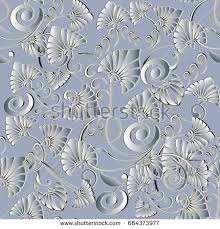 modern floral seamless pattern abstract light stock vector