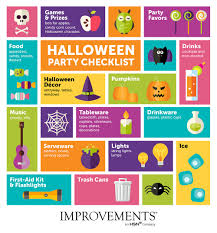 halloween party ideas use a checklist to keep track of what you