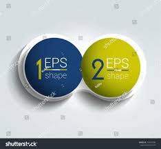 Step Design by Two Business Elements Banner 2 Steps Stock Vector 318475508