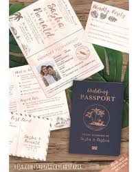 destination wedding invitations spectacular deal on destination wedding invitation passport