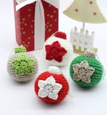 Amigurumi Christmas Ornaments - amigurumi christmas ornaments free crochet pattern mindy